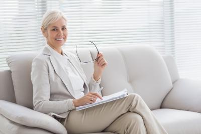 consultant smiling